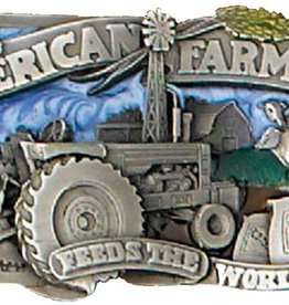 WEX Belt Buckle - American Farmer