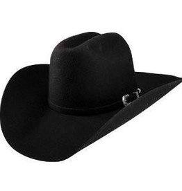 Resistol Resistol Tucker Felt Western Hat 3x, Black