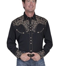 Scully Men's Scully Pickstitch Western Shirt