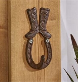 Giftcraft Inc. Cast Iron Horseshoe Design Wall Hook