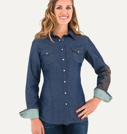 Noble Women's Noble Rock and Roll Denim Shirt (Reg $49.95 now 15% OFF!)