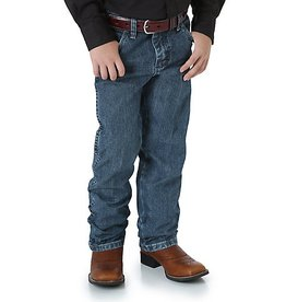 "Wrangler Boy's Wrangler® Cowboy Cut® Original Fit Jean, ""Subtle Worn"" Appearance"