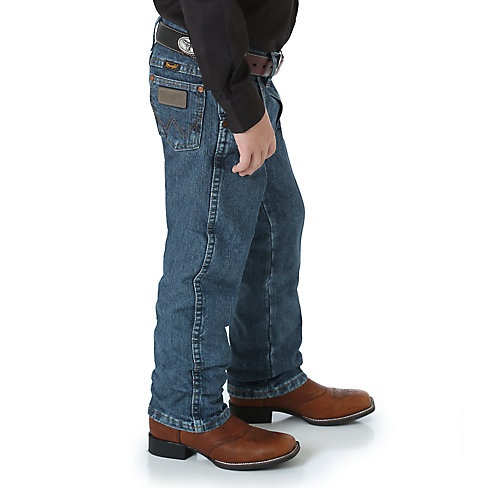 Wrangler Boy's Wrangler® Cowboy Cut® Original Fit Jean, 12.75oz Denim