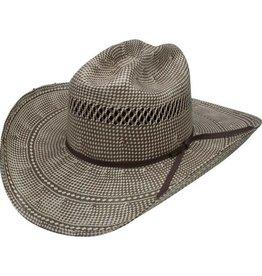 Resistol Resistol Domino 20X Straw Hat, 4-1/4 Brim - 7 1/4