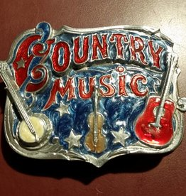 Rockmount Belt Buckle - Country Music