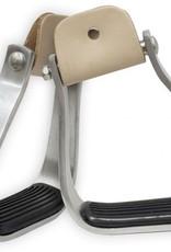 Showman Aluminum Angled Stirrups