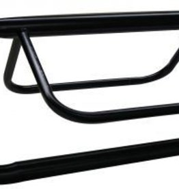 Showman Heavy Duty Tubular Wall Mount Saddle Rack - Black
