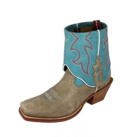 Twisted X Women's Twisted X Steppin' Out Cuff Boots Dusty & Ocean - 9 B (Reg $189.95 now 25% OFF!)