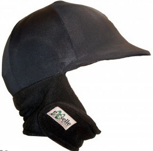 Winter Helmet Cover, Black