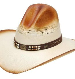 WEX Gus Style Straw Hat Natural Brow S/M