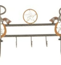 cowboy hat hooks for wall