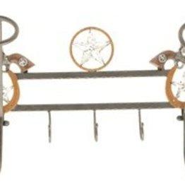 Western Hat Rack & Wall Hooks