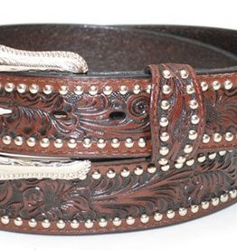 WEX Adult - Tooled Studded Leather Belt (Reg $44.95 NOW $20 OFF!)
