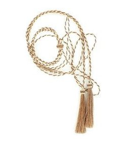 M & F Western Products Stampede String- Horse Hair Brown Adult
