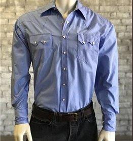 Rockmount Men's Rockmount Solid Blue Shirt XL (Reg $79.95 Now 25% Off)