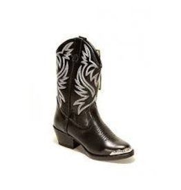 Smoky Mt Children's Smoky Mt Western Boot: Mesquite Black
