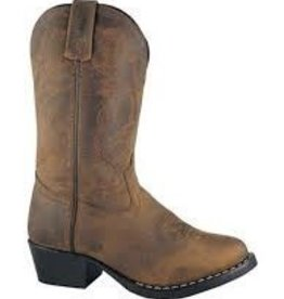 Smoky Mt Children's Denver Western Boots, Brown