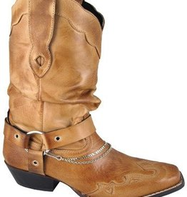 Smoky Mt Ladies Avalon Western Boot Bomber Tan 8