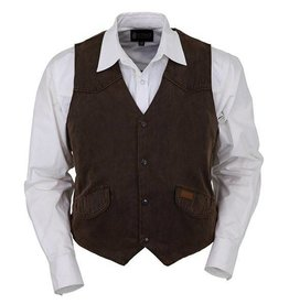 Outback Men's Outback Montana Vest Brown - XL Only