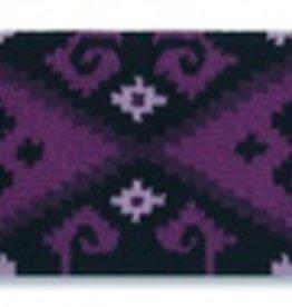 Mayatex Mayatex Chaparral Wool Saddle Blanket Grape & Black, 36x34