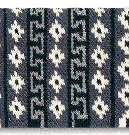 Mayatex Mayatex Inca Trail Saddle Blanket Black & Gray 36x34