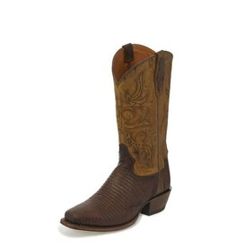 Tony Lama Men's Tony Lama Lizard Caprock Tobacco
