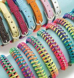 Wyo-Horse Bracelet - Rainbow Braided