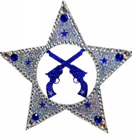 Pro-Choice Body Bling: Star with Pistols