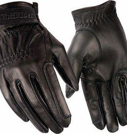 TuffRider Leather Show Glove black 6