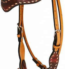 Alamo Saddlery Marble Wave Overlay Tack Set