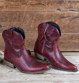 Dingo Women's Dingo Adobe Rose Western Boot, Red Only