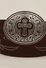 Adult - Ariat Belt w/ Cross Buckle (REG $49.95 now $20 OFF!)