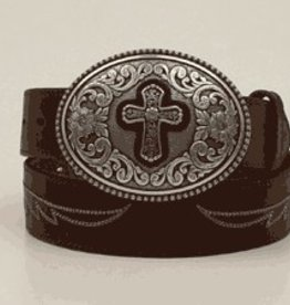 Adult - Ariat Belt w/ Cross Buckle