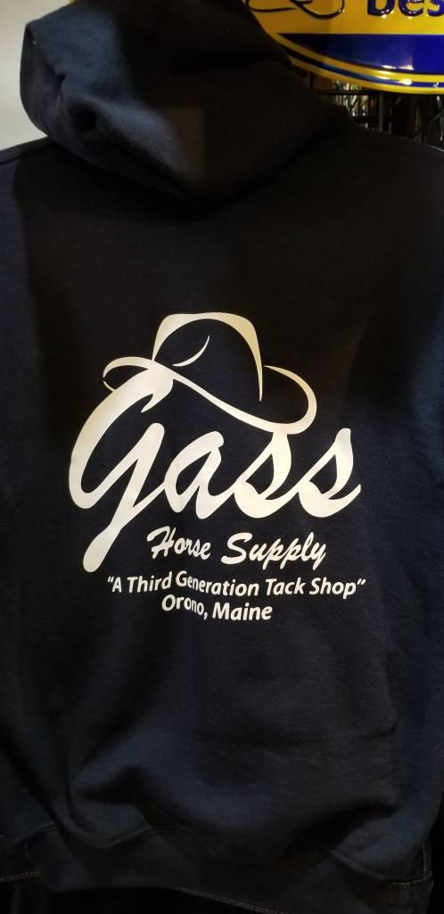 GHS/Gildan Hoodie with Logos, Navy