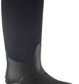 "Smoky Mt Amphibian Black Rubber Riding Boots w/Lining, 14"" Tall - Size 11"
