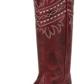 Tony Lama Women's Tony Lama Penella Red Boots (Reg $214.95 now 20% OFF!)