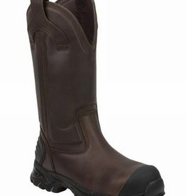 Justin Work Boots Men's Justin Full Joist Brown Waterproof, Comp Toe Boot - $195.95 @ 25% OFF! 12M