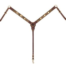 "Weaver Backwoods Breast Collar Sunset 1 1/2""/Horse"