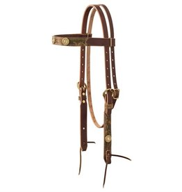 Weaver Backwoods Browband Headstall Sunset Horse/Full