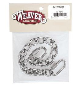 Weaver Curb Chain  9-1/2