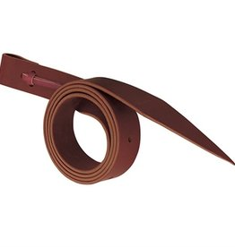 "Weaver Leather Latigo with Holes, Burgandy - 1-1/2"" x 60"""