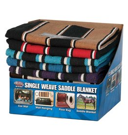 Weaver Weaver Single Weave Saddle Blanket Navajo 30 x 60
