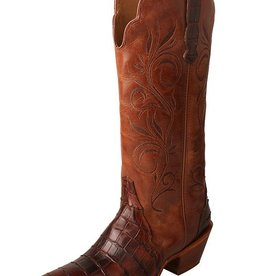 Twisted X Women's Twisted X Rancher Boot – Croco Cognac/Profirio Cognac (Reg $234.95 NOW 20% OFF!)