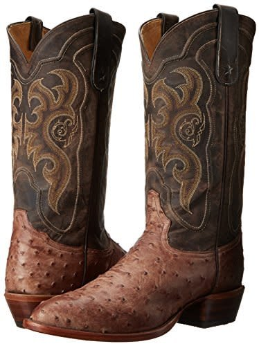 af983859b43 Tony Lama Men s Tony Lama Durmont Full Quill Ostrich Boots - Gass Horse  Supply   Western Wear