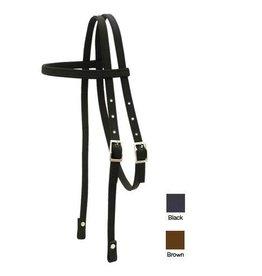 Abetta Abetta® Headstall, Nylon, Black - Horse Size