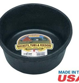 Little Giant Rubber Feed Pan - 8QT