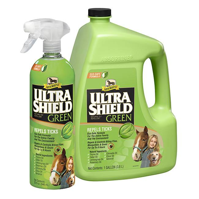 Absorbine Ultrashield Green Spray - 32oz REG $21.95 NOW 20% OFF!