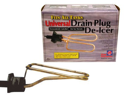 Universal Drain Plug De-Icer Plug Style 1500 watt