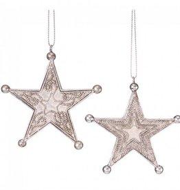 Tough1 Western Star Ornament Silver Star