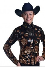 Royal Highness Women's Royal Highness Copper Rose Show Jacket - L